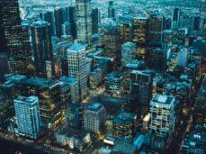 Bird's-eye-view-of-city